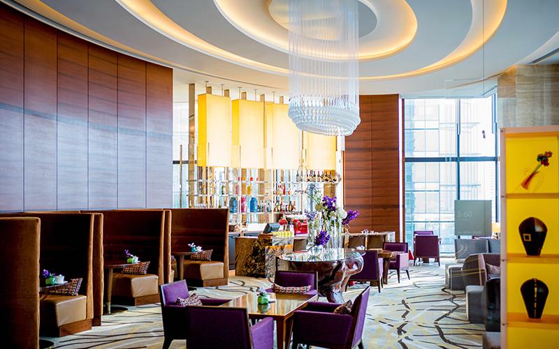 結婚相談所でのお見合い場所例:【梅田】インターコンチネンタルホテル 20階「3-60 ラウンジ スリーシクスティ」