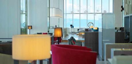 結婚相談所でのお見合い場所例:【天王寺】大阪マリオット都ホテル 19階「ラウンジプラス・バープラス」